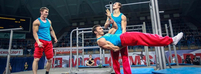 street workout russians