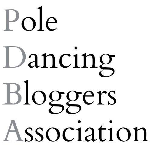 pole dancing bloggers logo now