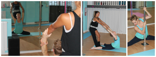 Seconda settimana di stretching | Training Days: a pole dance diary