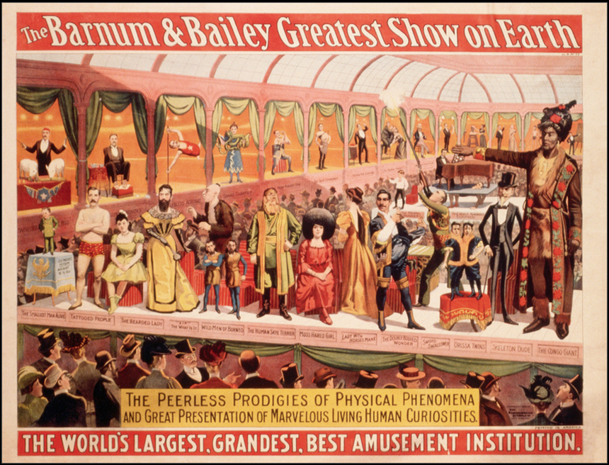 "Barnum&Bailey Circus ""The World's largest, grandest, best"