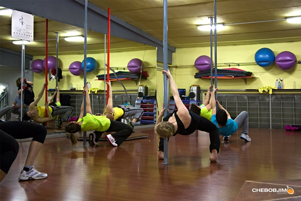 Divertiti in palestra con DEA Fitness: la pole dance ha incontrato l'aerobica