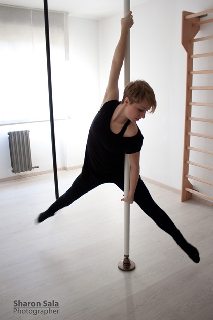 Sharon Sala pole dance italy (4)