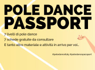 #PoleDancePassport impara la pole dance, migliora e divertiti