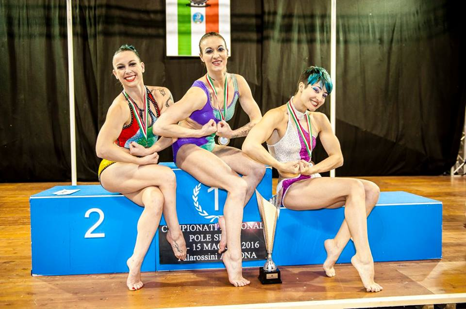campionato italiano pole sport competitive donne