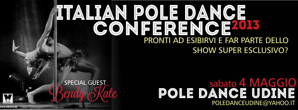 Esibisciti all'Italian Pole Dance Conference