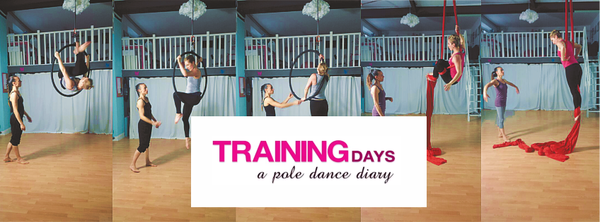 Acrobatica aerea a lezione di tessuti | Training days: a pole dance diary [Video]